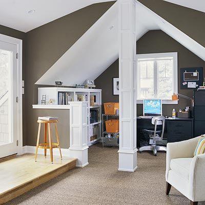 Attic Bedroom An Attractive Space Makes A Sound Investment Braitman Design Studio Attic Renovation Attic House Attic Remodel