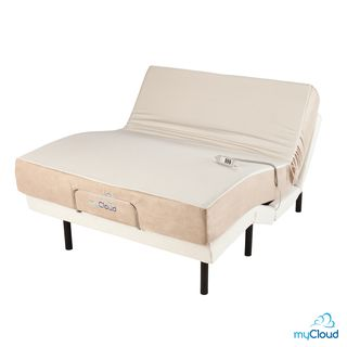 Best Mycloud Adjustable Bed Queen Size With 10 Inch Gel Infused 640 x 480
