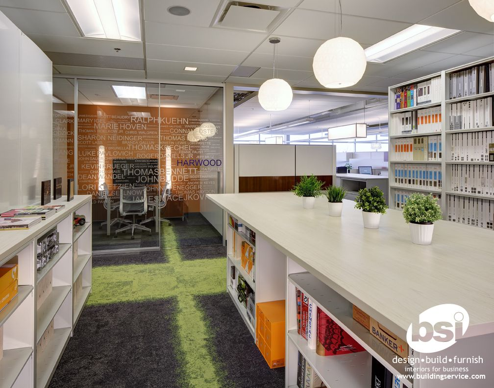 BSI Design Department Resource Library which faces a ...