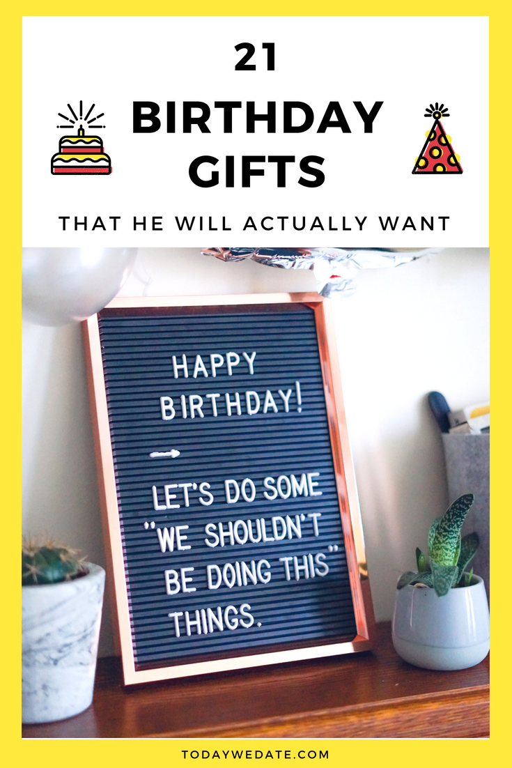 21 Thoughtful Birthday Gifts For Him If He Has Everything Already