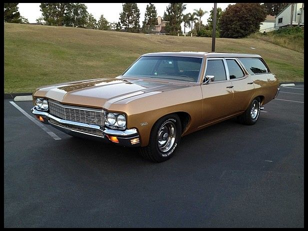 1970 Chevrolet Kingswood Station Wagon Presented As Lot T126 At