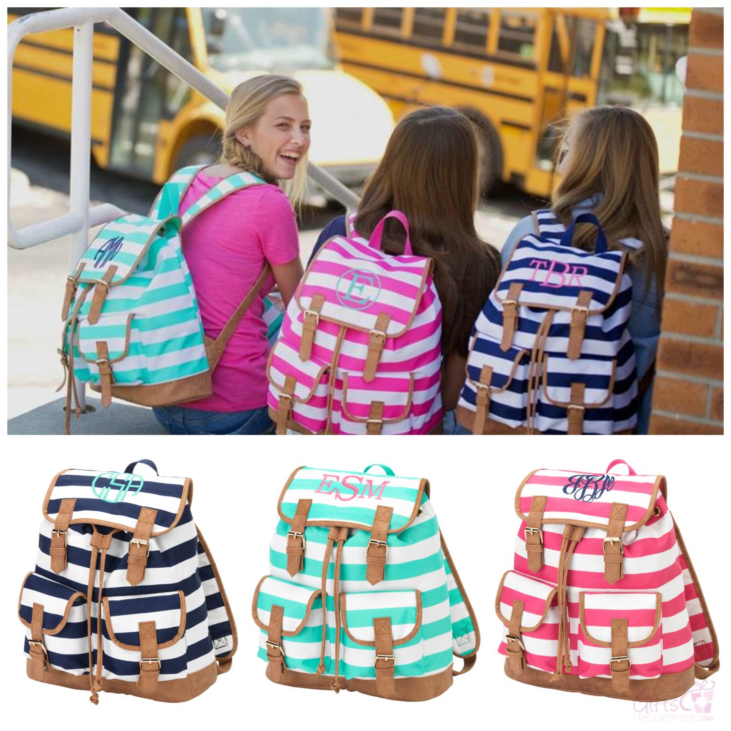 personalized teen backpack kids 14 campus knapsack book bag