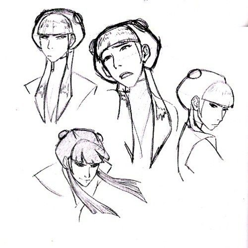 Mai Concept Art Avatar The Last Airbender Avatar Characters Sketches