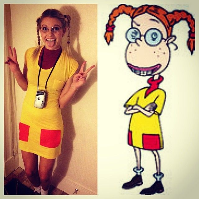 40 Costume Ideas To Relive Your 90s Trick Or Treating Days Cartoon Halloween Costumes 90s Halloween Costumes Red Head Halloween Costumes