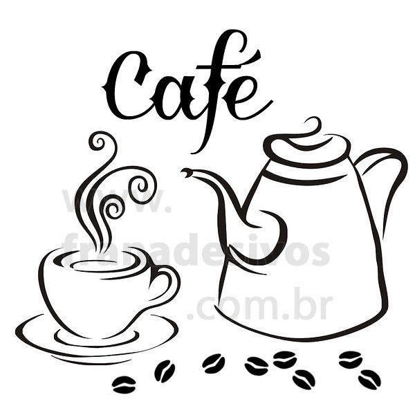 adesivos de parede cozinha - Pesquisa Google Hora del café - glasbilder küche kaffee