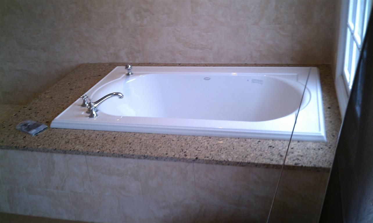 Soaking tub installed in Summit, NJ. See the finished product at www ...