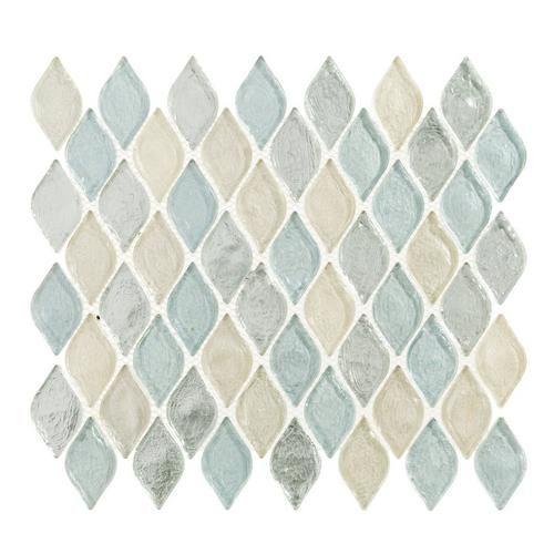 Floor And Decor Glass Tile Monaco Celeste Glass Mosaic  Monaco Mosaics And Decorative Accents