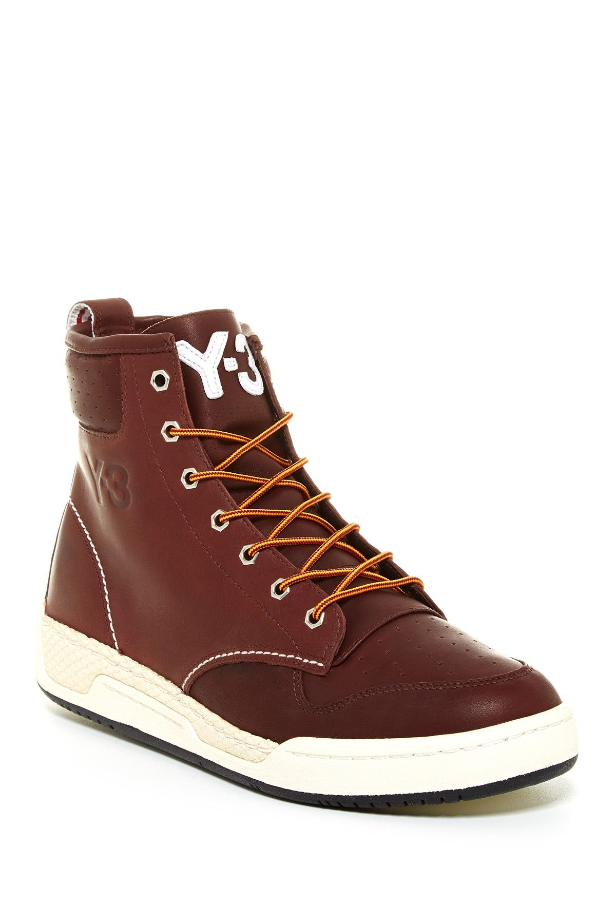 128e5638f3d6 adidas Y-3 Hayworth Classic High Top  Brown Leather. Still one of my  favorite shoes.
