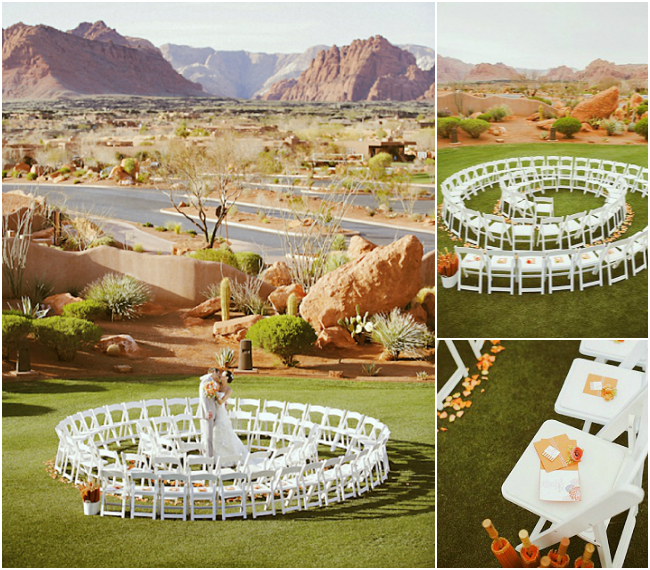 Ceremony Seating Reception: Unique Ceremony Seating Ideas For Outdoor Weddings