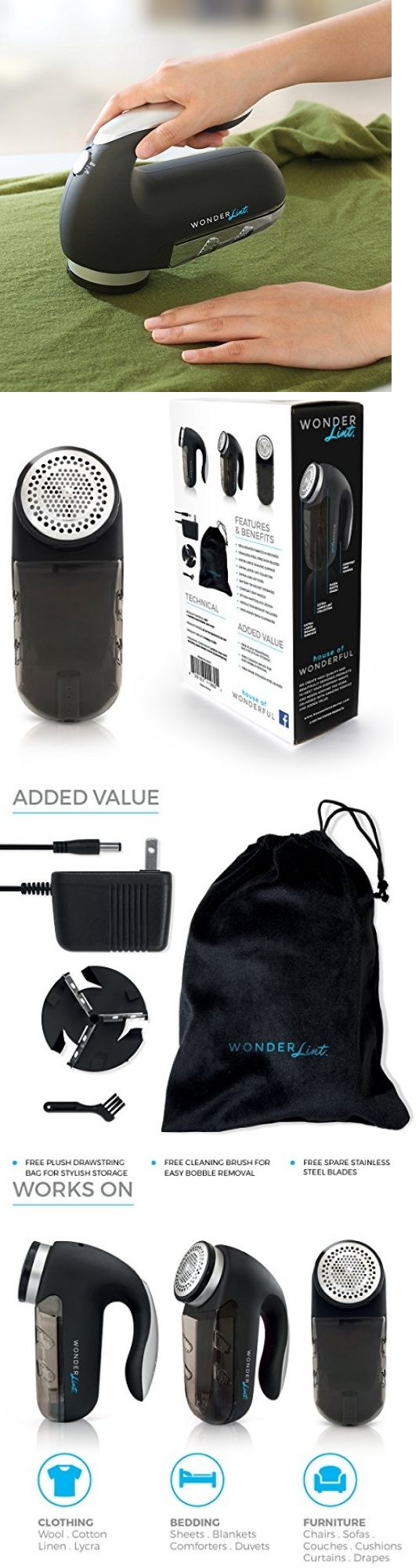 Lint Removers And Lint Shavers 170626 Sweater And Fabric Shaver  6fb5bfa2f25e69ac13abc1a347ca817b 817192294856363106. Evercare Giant Fabric  Shaver Bags