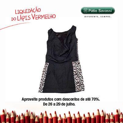 Vestido Crepe Bordado, de 359,00 por R$215,00 na Espaço Fashion do @meupatiosavassi. #LLV