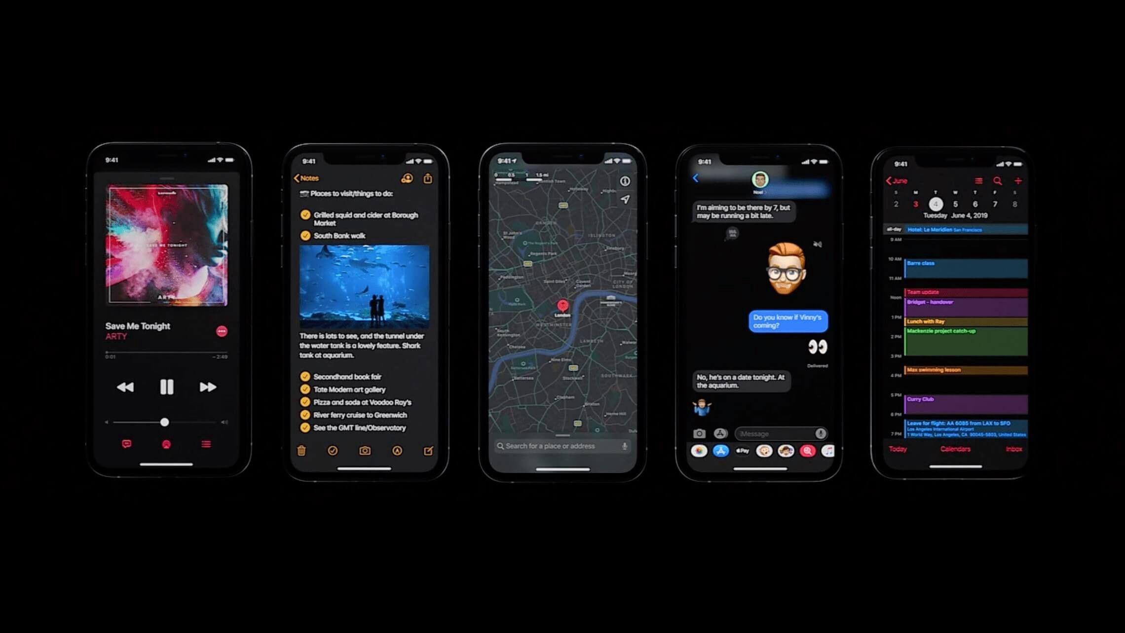 Facebook Messenger on Dark Mode in 2020 Iphone, Apple