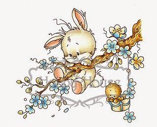 Sylvia Zet Easter Addition Animalitos Dibujos Para