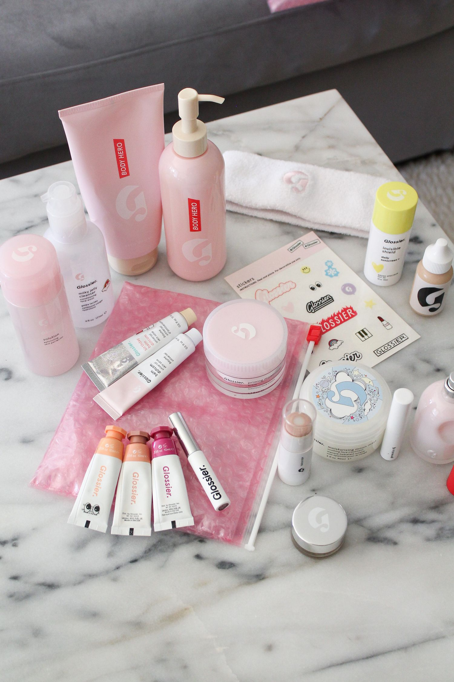 My Review of (Almost) Everything Made by Glossier is part of Glossy makeup - Over the past year I've accumulated my fair share of Glossier products  I'm  not a Glossier rep, and these are my personal honest opinions of the  products  I will continue to update as I try new launches from the brand