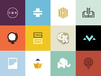 38 Modern Flat Logo Designs Inspiration | Logos, Graphics and Flat ...