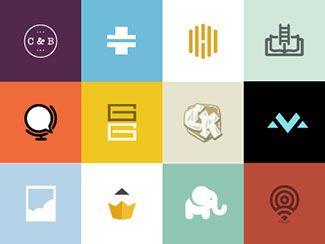 38 Modern Flat Logo Designs Inspiration | Logos, Graphics and ...