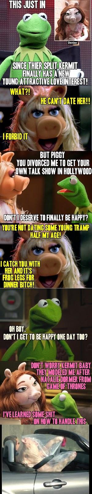 Saanko esitellä Kermitin uuden tyttöystävän, Denise | Miesasia