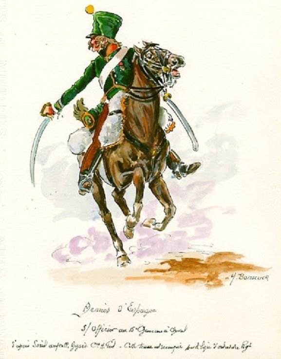 French; 15th Chasseurs a Cheval, Sous-officier, in Spain c.1811