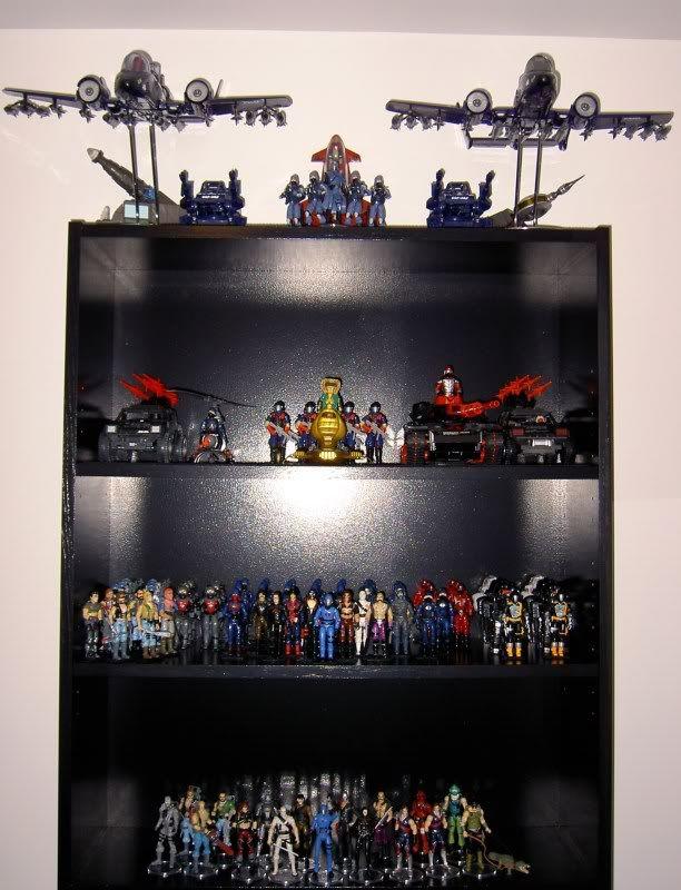 GI Joe Collection Display