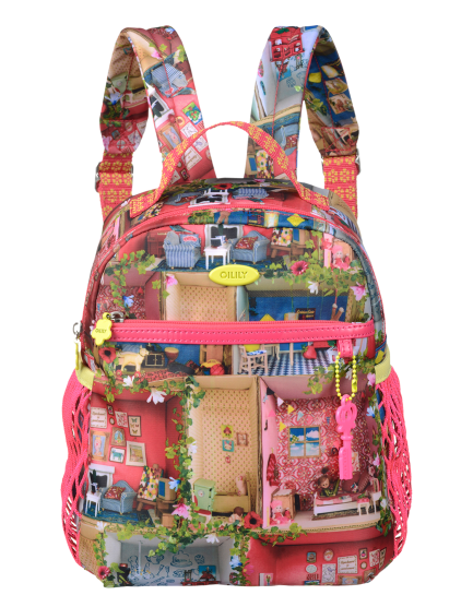 b0a5dafe083 Olly's Dollhouse S Backpack | Oilily! | Bags, Kids bags, Backpacks