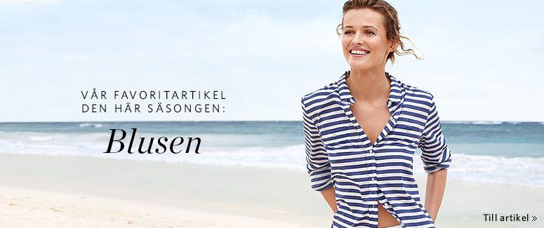 Esprit långärmade mönstrade blusar för damer i Esprits Online-Shop ... 1ce1e35f3fe23