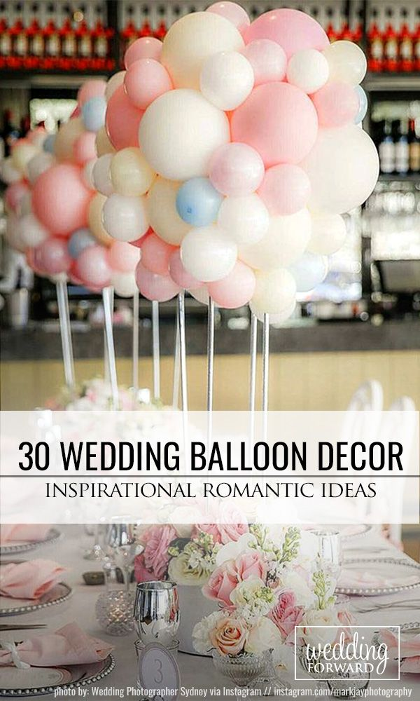 fun ideas for bridal shower themes%0A    Romantic Wedding Balloon Decorations Ideas     We associate balloons with  fun and happy  We