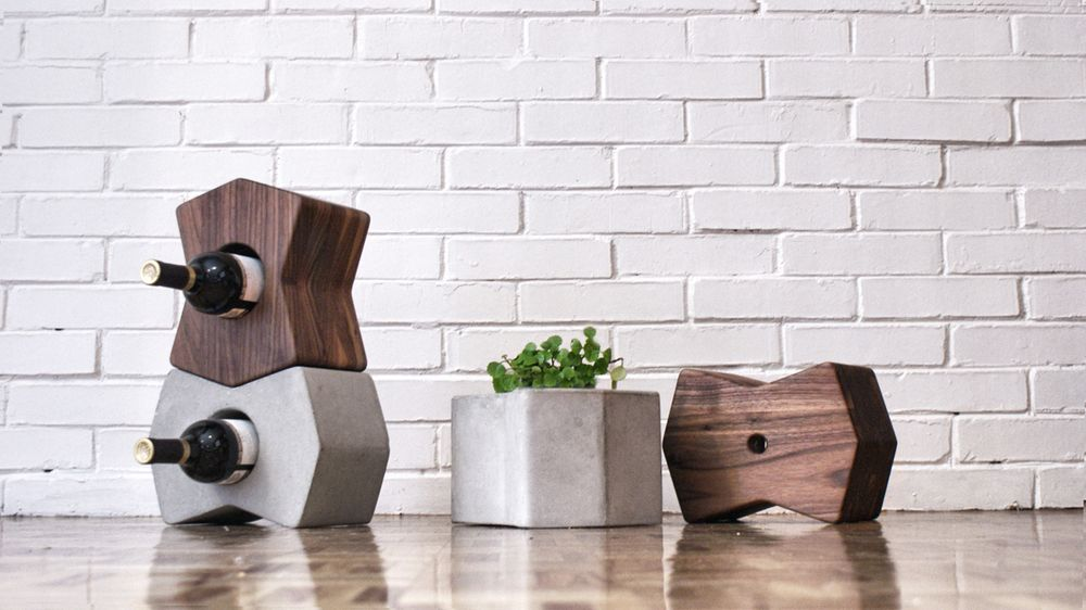 We love the look, function, and versatility of these modular storage forms from industrial designer Alberto Villarreal.