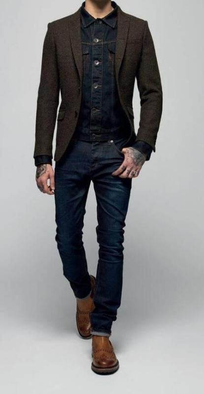 c89b03e8c3 The Dark Wash Jean - Men's Wardrobe Essentials | Style | Mens ...