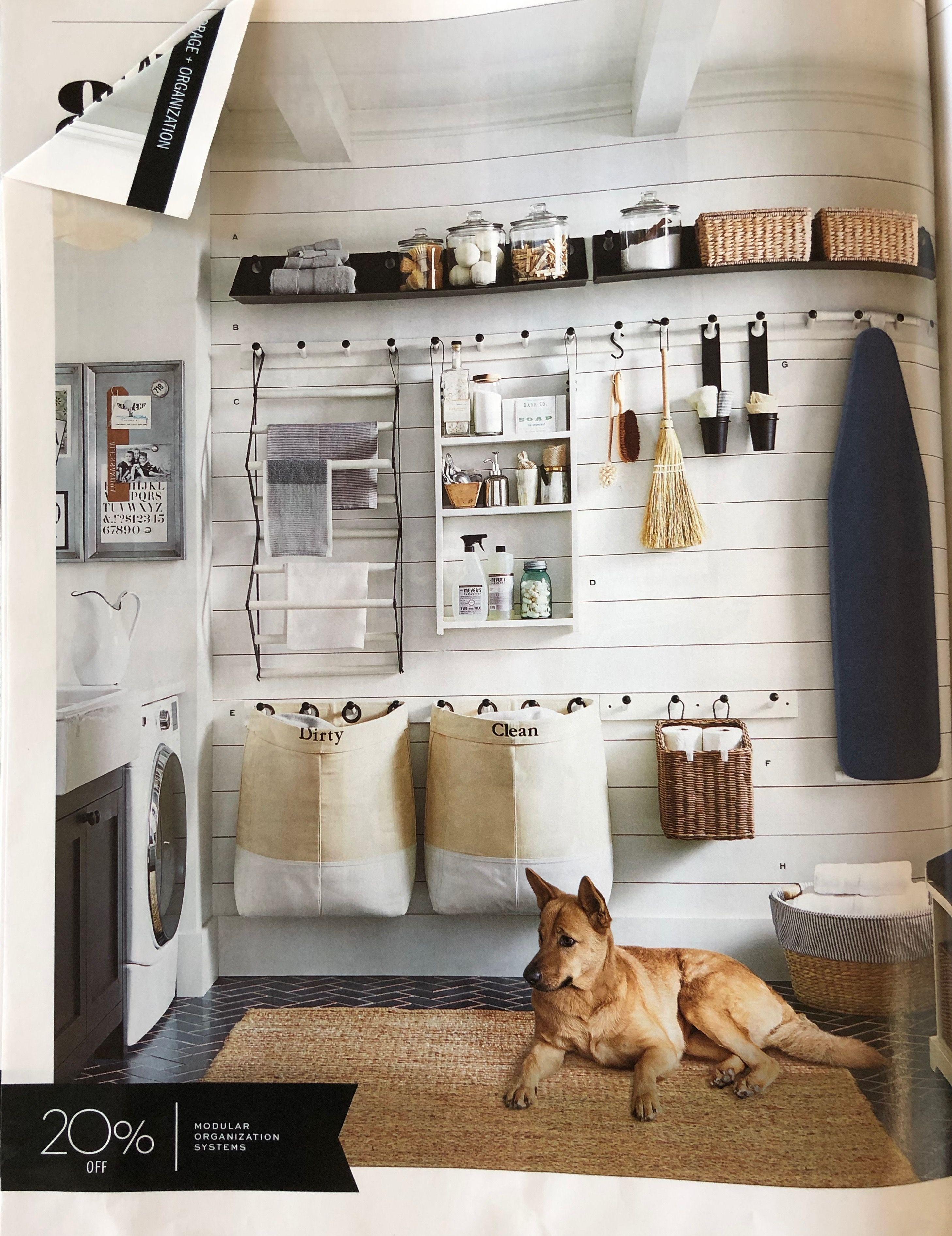 Pottery Barn Catalog Dream Laundry Room Home Decor Pottery Barn