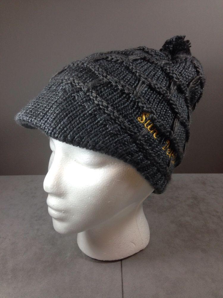 nike knit hat with brim