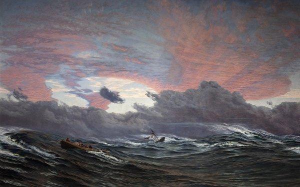 Christmas Morning 1866 John Brett Victorian Artist