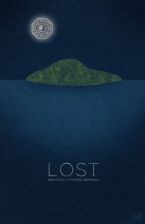 Lost Minimalist Poster Design For One Of My Favorite Television