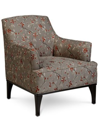 Medland Fabric Accent Chair Only At Macy S Macys Com Fabric