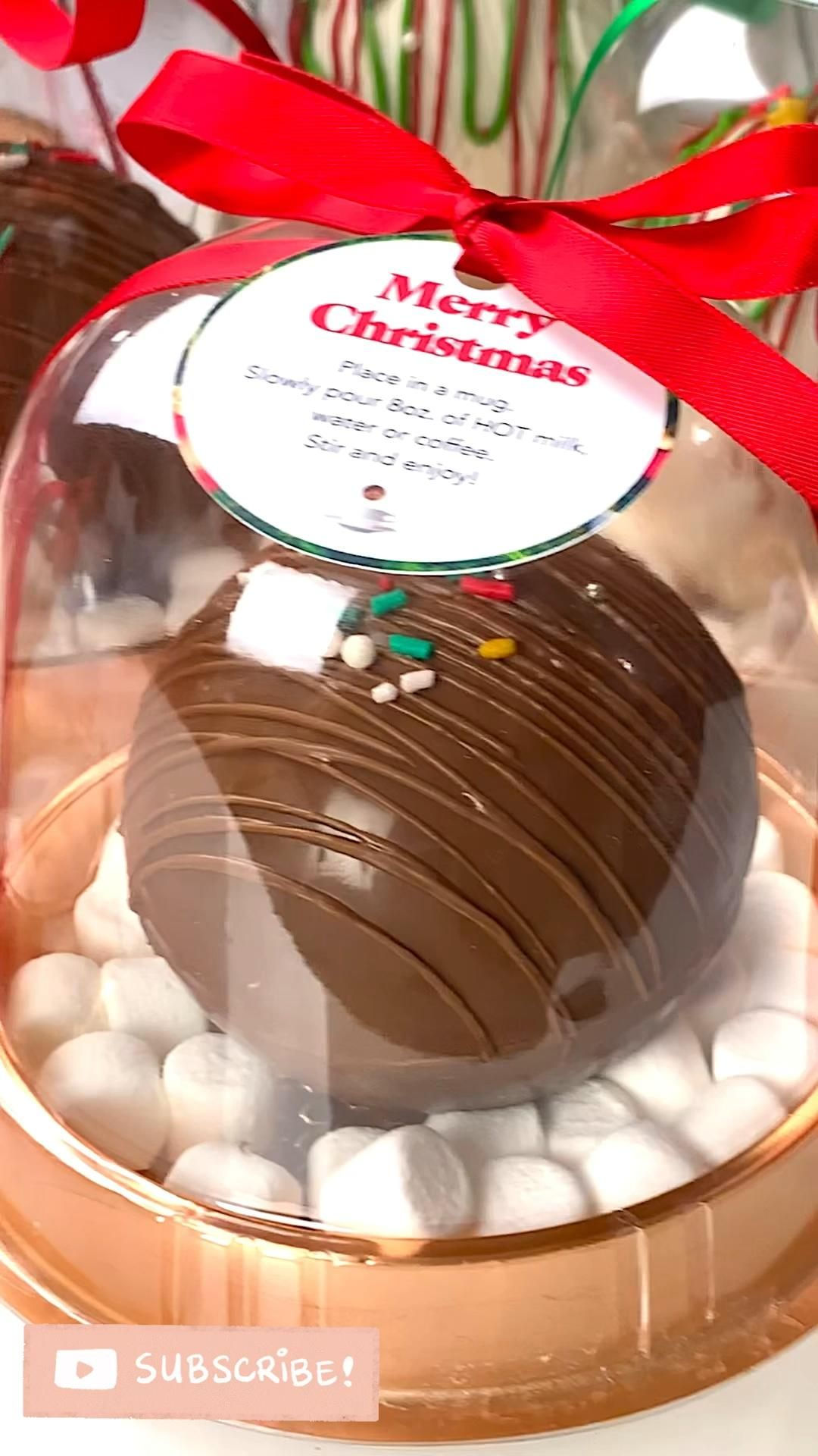 How to Package Hot Cocoa Bombs for Christmas
