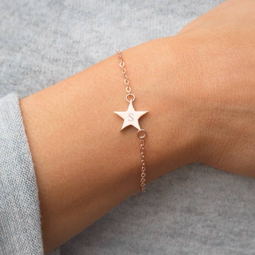 Are You Interested In Our Initial Star Personalised Bracelet With Bloom Boutique Need