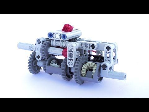 Lego Compact 3 Speed Automatic Gearbox Instructions Lego Technic