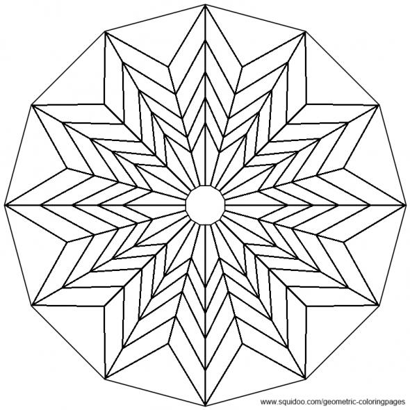 Geometric Coloring Pages Geometric Coloring Pages Tessellation Patterns Mandala Coloring Pages
