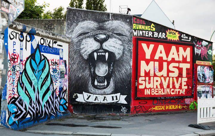 El Lado Este Del Muro De Berlín Una Espontánea Galería De Arte Dedicada A La Tolerancia Y La Paz Berlin Wall East Side Gallery Street Art