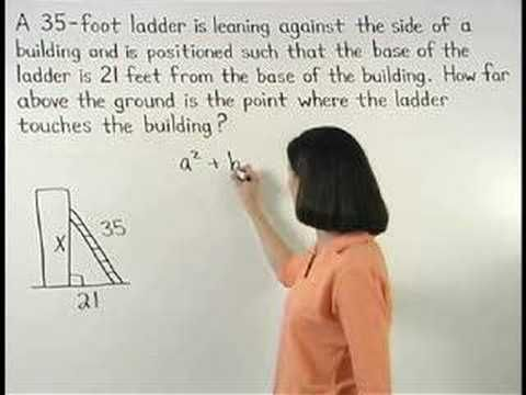 pythagorean theorem word problems yourteacher com math help  pythagorean theorem word problems yourteacher com math help