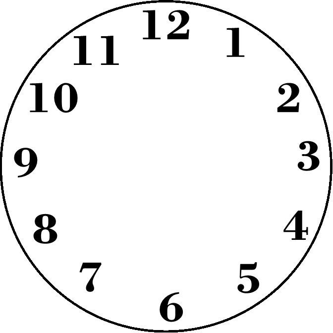 1000 Images About Clock Faces Blank Clock Clock Clipart
