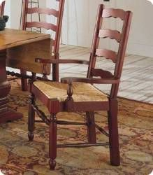 Broyhill Attic Heirlooms Ladderback Arm Chair Set Of 2 Broyhill Furniture Ladder Back Chairs