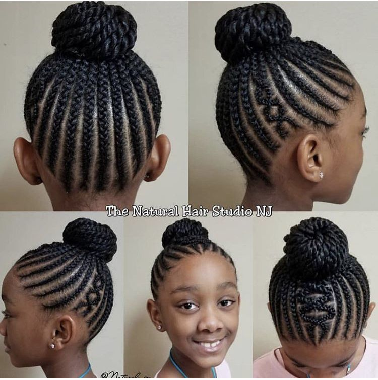 Pin By Curls4lyfe On Kids Braids Natural Hairstyles For Kids