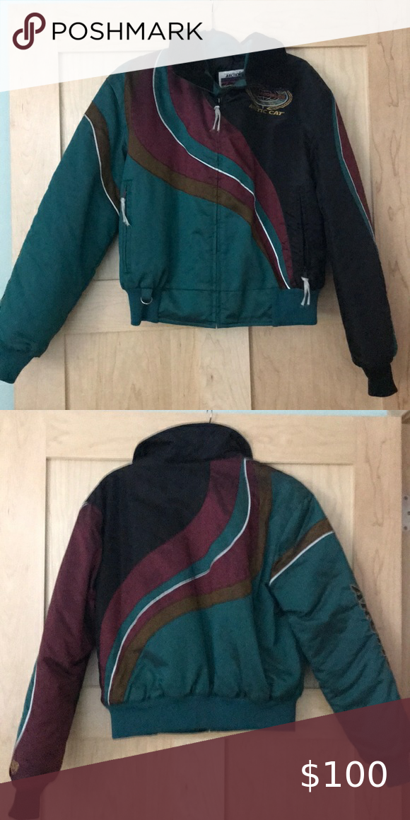 Vintage Arctic Cat snowmobile jacket in 2020 Jackets