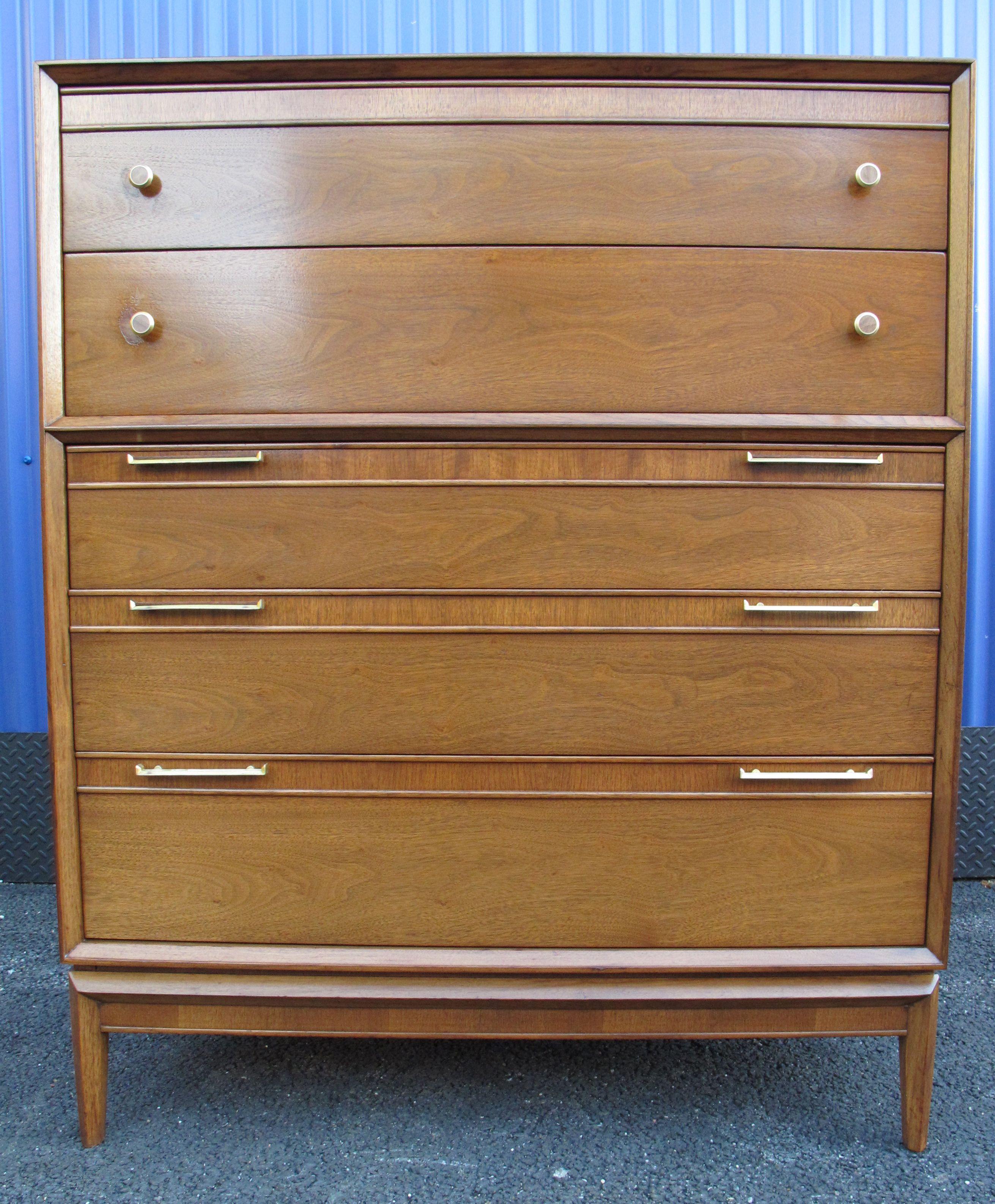 Drexel Pinnacle Tall Dresser C. 1961