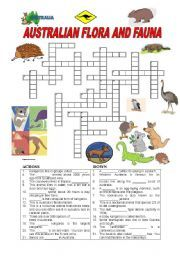 english worksheet australian flora and fauna nature vocabulary worksheets worksheets flora. Black Bedroom Furniture Sets. Home Design Ideas
