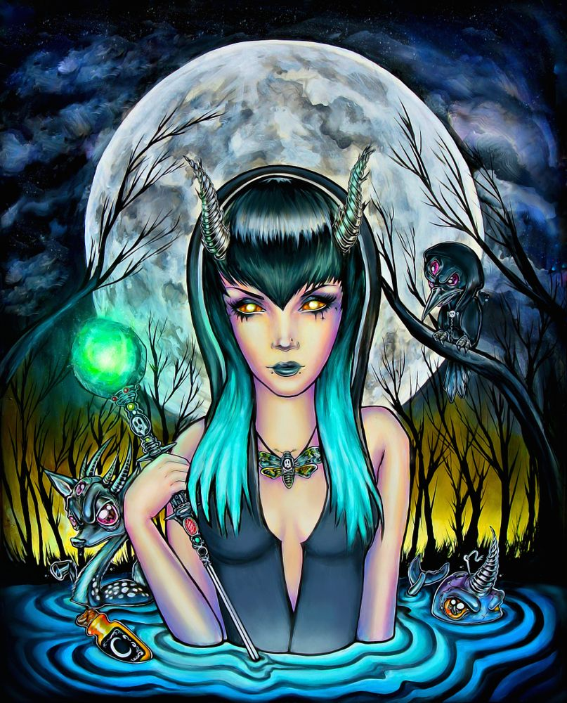 """Limited Edition """"Black Moon"""