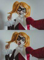 Harley Selfie by Helen-Stifler