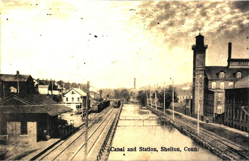 Shelton Train Station located on the Maybrook Line