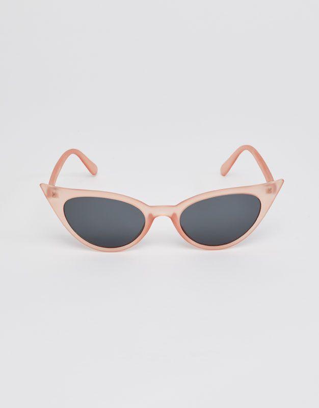 e02dc14c8da85d Roze cat-eye bril - Zonnebril - Accessoires - Dames - PULL BEAR Netherlands