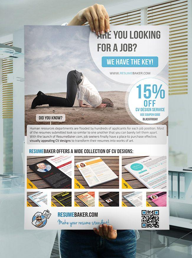 Special Black Friday Poster ResumeBaker